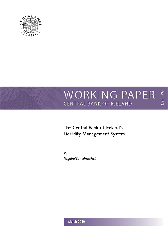 Working Paper No. 79 - Cover