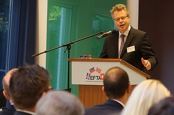 The Governor was a keynote speaker at an EFTA seminar held on 27 September 2016
