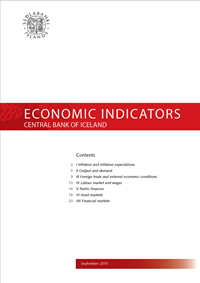 Cover of Economic Indicators September 2015