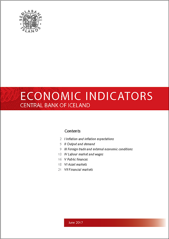 Cover of Economic Indicators June 2017