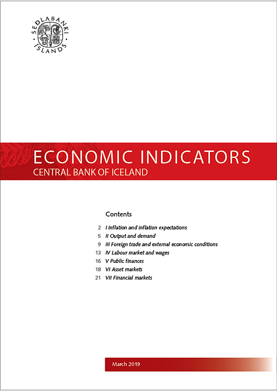 Cover of Economic Indicators