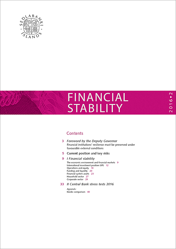 Cover of Financial Stability 2016/2