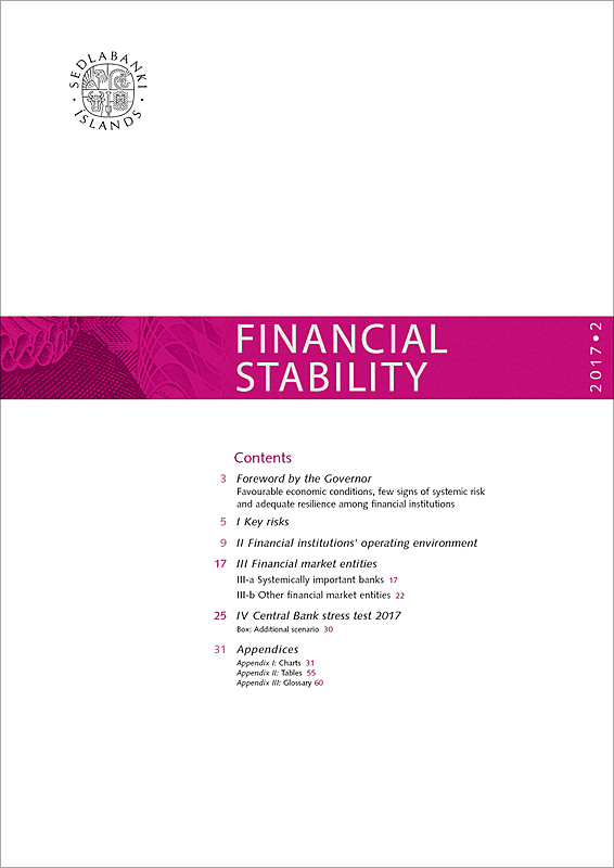 Cover of Financial Stability 2017/2