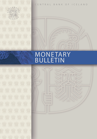 Cover of Monetary Bulletin
