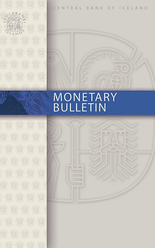 Monetary Bulletin 2016/4