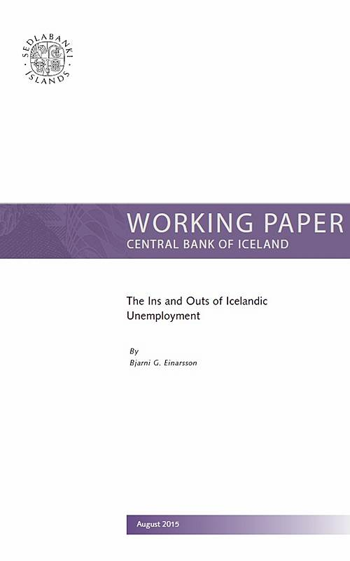 New working paper on labour market flows