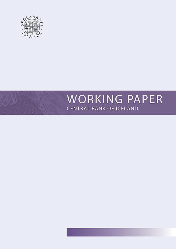 Working Paper